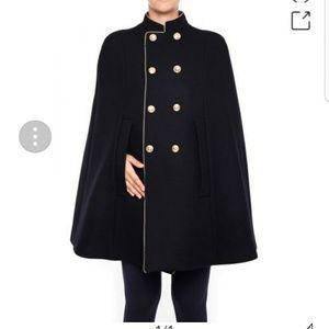 Saint Laurent officer cape